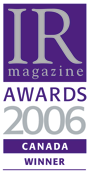 IR Awards 2006