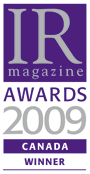 IR Awards 2009